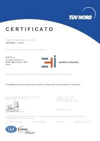 certificazioni eti bologna stampaggio materie plastiche