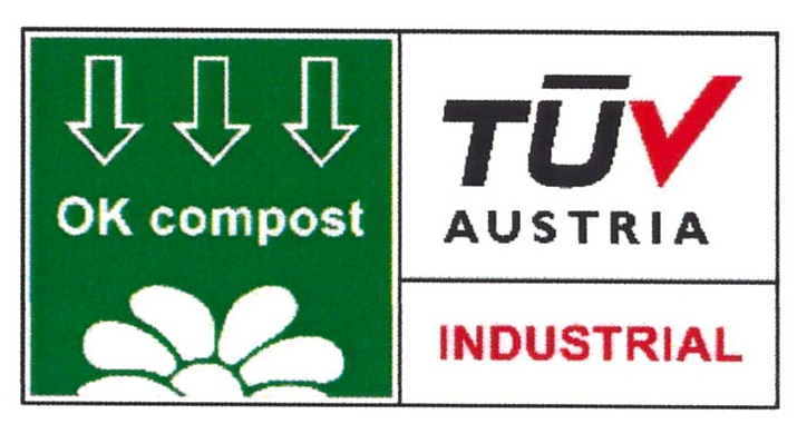 certificazione OK compost industrial TUV Austria
